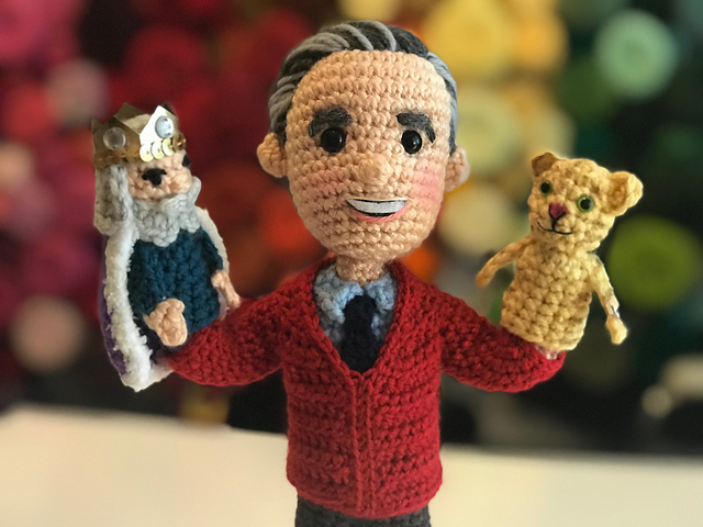 Ravelry Mr Rogers W Daniel Tiger And King Friday Pattern By Allison Hoffman