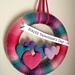 Valentine's Day Heart Yarn Wreath pattern