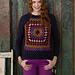 Granny Raglan Pullover pattern