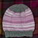 Binary Love Heart Hat pattern