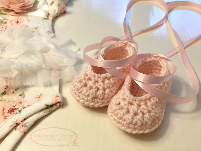 shop best sellers no sale tax super cheap Baby Ballet Shoes pattern by Kristine Mullen