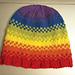 Pixelated Striped Hat pattern