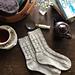 Little Paddocks socks pattern