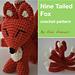 9 Tailed Fox - Kitsune aka Gumiho pattern