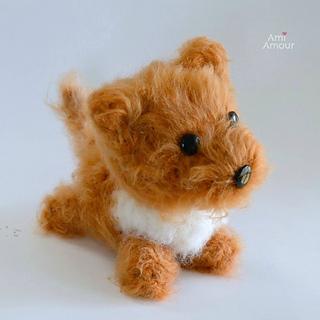 059 Crochet Pattern - Toy Terrier dog - PDF file Amigurumi by ... | 320x320