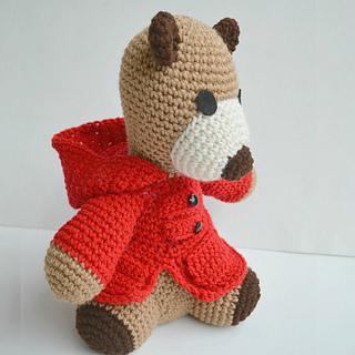 Ravelry: TOBI BEAR pattern by Regina Kiss | 320x320