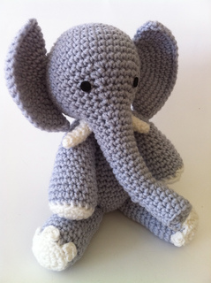 The Sweetest Crochet Elephant Patterns To Try | The WHOot | 320x239
