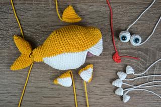 Amigurumi Shark Keychain Crochet Free Patterns - Crochet & Knitting   213x320