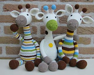 Goede Ravelry: Giraffe Gijs pattern by Stip & Haak QT-36