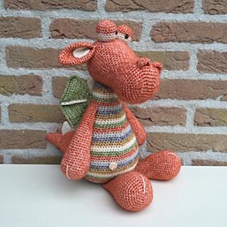 Verbazingwekkend Ravelry: Krokodil Karel pattern by Stip & Haak HI-21