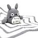 Totoro baby blanket pattern