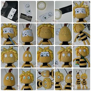 Smartapple Creations - amigurumi and crochet: Maya the Bee | 320x320
