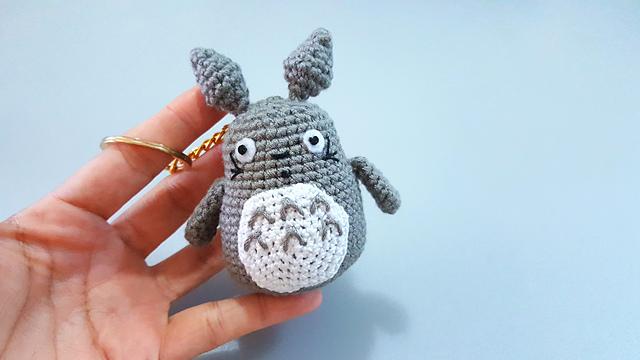 Totoro Free Crochet Pattern • Spin a Yarn Crochet | 360x640