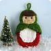 Matryoshka Doll Ornament pattern