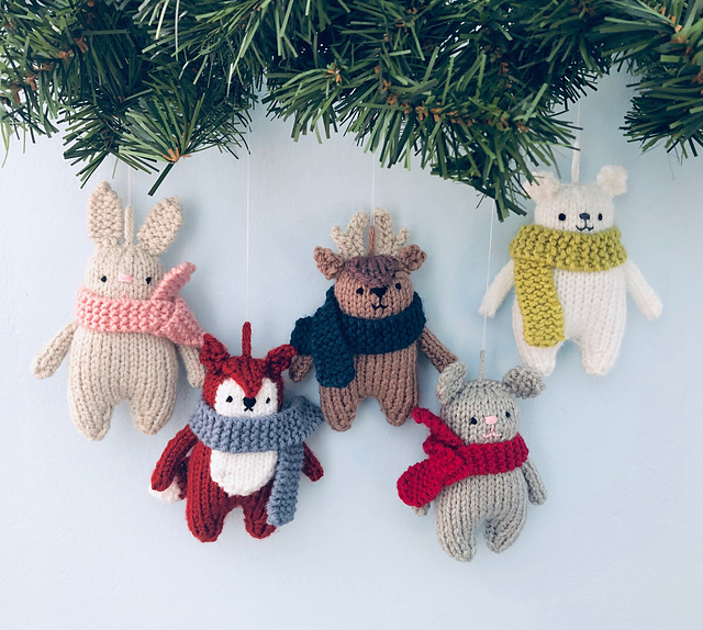 Knitting Ornaments