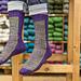 Checkers Socks pattern