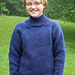 Big Kids Bulky Mock Turtleneck pattern