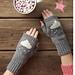 Cloud Wrist Warmers pattern