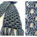 Granny Stripes Scarf pattern