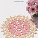 Crown of hearts doily pattern