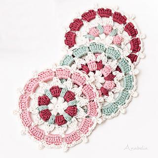 Japanese inspiration circular motif
