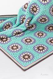 Crochet Stroller Baby Blanket