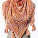 AF201 Triangle Shawl Susan Joy pattern