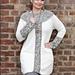 Tunika med flette pattern