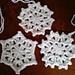 Simple Snowflake With Variations pattern