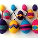 Patterned Easter Egg Decorations pattern