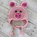 Pig Hat pattern