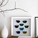 Cabinet de curiosités papillons pattern