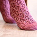 Twist and Check Socks pattern