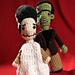Frankenstein and Bride of Frankenstein Amis pattern