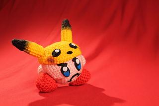 Ravelry: Kirby - Super Smash Brothers Edition pattern by Nerdigurumi | 213x320