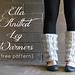 Ella Knitted Leg Warmers pattern