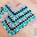Mini Granny Cowl Poncho Baby & Toddler pattern