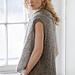 Faye 2-Way Vest pattern