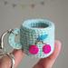 Tiny amigurumi cup pattern