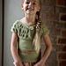 Ruched Yoke Tee Child pattern