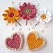 Gerbera Flowers pattern