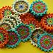Flower Coasters pattern