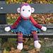 Dress for Monkey Jacobus pattern