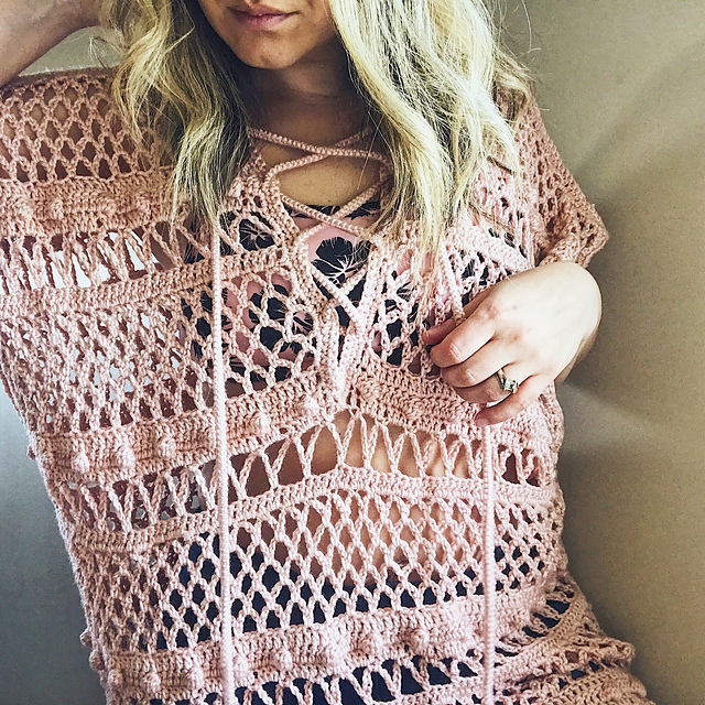 Ravelry Sandy Shores Beach Coverup Pattern By Anna Riley