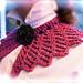 Classic Victorian Detatchable Handknit Lace Collar pattern