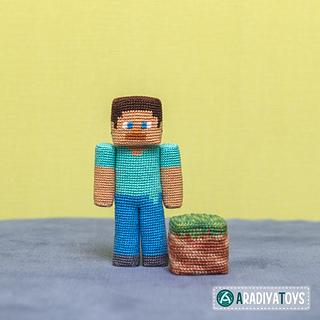amigurumi herobrine minecraft - Pesquisa Google | Bonecas de ... | 320x320