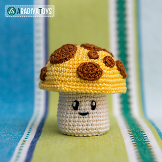 Sunflower (Plants vs Zombies) Crochet Amigurumi Pattern Free ... | 320x320