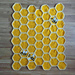Bee Happy Honeycomb Baby Blanket Lapghan pattern