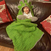 2 in 1 Hooded Triceratops Dinosaur Blanket pattern