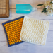 Cobble Stitch Dishcloths pattern
